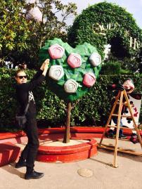 Painting the Roses Red in Disneyland Paris