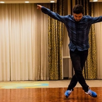 Vincent Marchesano Performing a Tap Routine